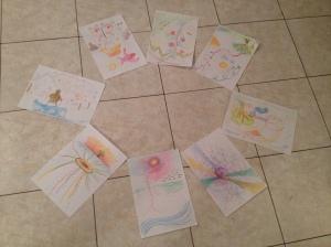 Disegni collettivi su Vivere i miei sogni gruppi evolutivi