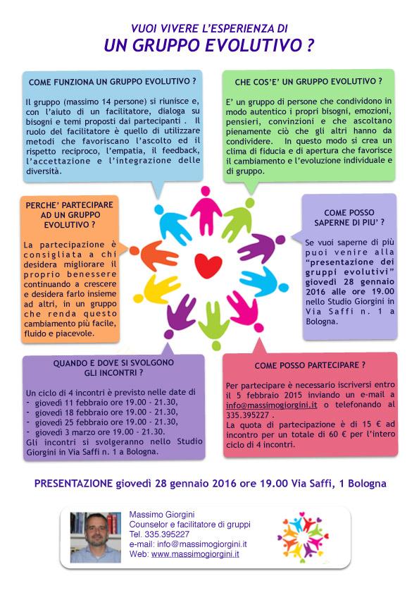 Gruppo Evolutivo a Bologna